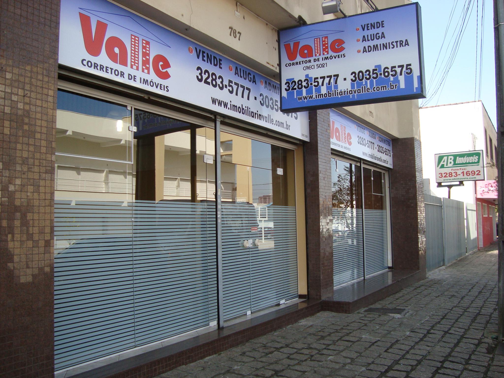 Imagem da frente da loja